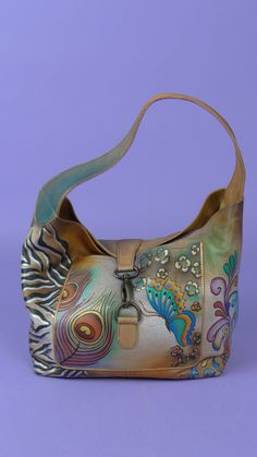92b5894d3e0 The 56 best Painted leather images on Pinterest