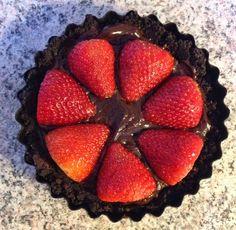 Kreative Pips: Oreo-jordbær-tærte