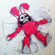 Bunny Reaper 3 - by Norio Fujikawa