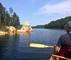 This #Swift #Canoe, the Kipawa, is the lightest and fastest touring boat we've tried.