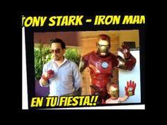 Iron Man en tu fiesta de cumpleaños argentina