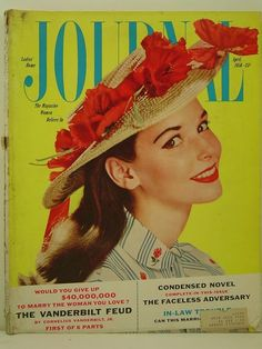 1956 Ladies Home Journal Magazine: April - The Vanderbilt Feud/In-Law Trouble