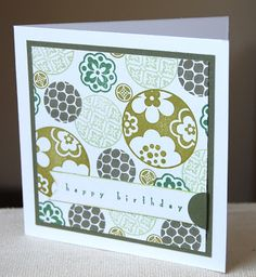 Stampin' Up ideas and supplies from Vicky at Crafting Clare's Paper Moments: Circle Circus box of cards
