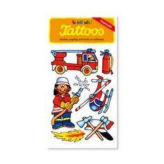 Een echte brandweerman of vrouw herken je aan zijn brandweerhelm, brandweerslang en een brandweer tattoo. www.creakelder.nl