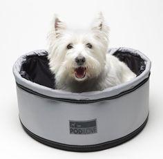 PetEgo Pod iLove Pet Carrier, Black/ Grey: Amazon.de: Pet Supplies