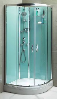 Superior Nice Shower Idea. This Make Had A Really Simplistic Fitting Method. Love  The Turquoise