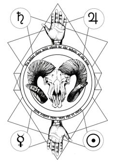 """""""Love is the law, love under will."""" -Aleister Crowley by Teresa Vetter, via Behance"""