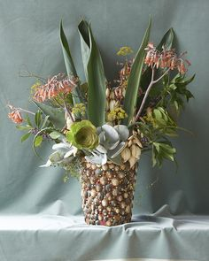 """""""Haumoana Arrangement """" by Billie Culy // New Zealand // Prints available online @ Homebase Collections Country Flower Arrangements, Beautiful Space, Still Life, Color Schemes, Succulents, Table Decorations, Creative, Prints, Flowers"""