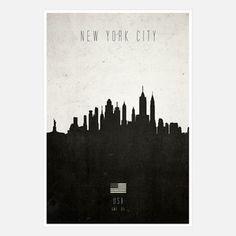 New York City Cityscape / Calm the Ham