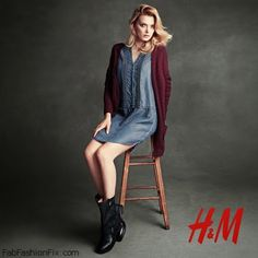 Leather biker boots with adjustable straps  from H&M autumn 2014 boots collection.