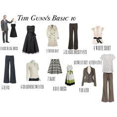 Tim Gunn 10 Basic Pieces | Desvarios de un ama de casa aburrida: 10 Prendas Basicas En El ...