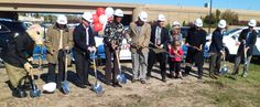 Groundbreaking at our new location