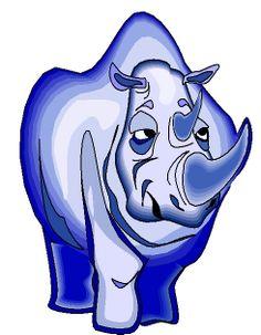 rinoceronte_25 clipart gratis