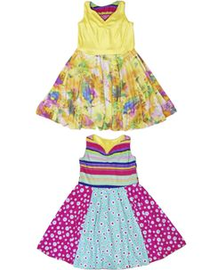 There's no childrens clothing boutique like TwirlyGirl.  This dress is reversible and twirls!  Click to see more.