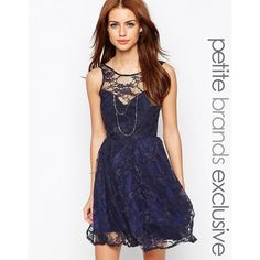 John Zack Petite Lace Overlay Sweetheart Prom Dress ($17) ❤ liked on Polyvore featuring dresses, navy, petite, navy blue cocktail dress, navy cocktail dress, white sheer dress, white dress and sweetheart prom dresses