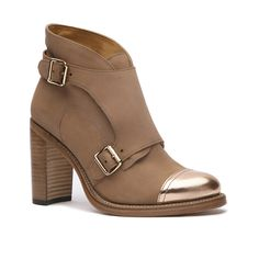 Mrs. Colin Tan + Rose Gold Women's Bootie – The Office of Angela Scott