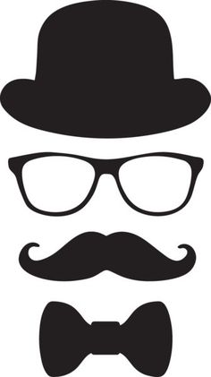 'Little Man Hipster Mustache Disguise Design' Sticker by partypeepsfun Mustache Birthday, Mustache Party, Fathers Day Crafts, Happy Fathers Day, Mustache Template, Man Clipart, Vector Clipart, Clipart Images, Eps Vector