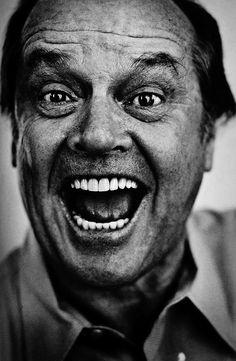Jack Nicholson #Photographie #Célébrité #Portrait