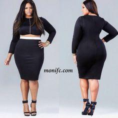 406383e460 Anita Marshall pour Monif C Curvy Fashion