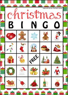 photograph regarding Holiday Bingo Printable named Cost-free Printable Xmas Bingo Playing cards Xmas Xmas