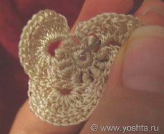 Irish crochet – Цветок | Уголок Yoshta