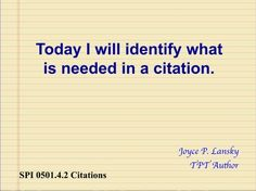 Citations from Books for Bibliography in Power Point