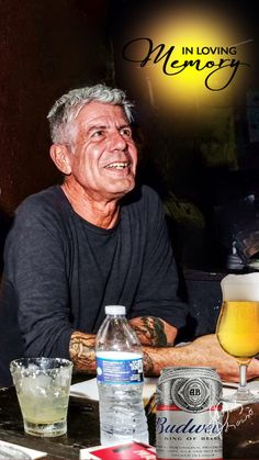 Anthony Bordain, Head And Heart, Sad Day, Human Condition, My Heart Is Breaking, Coke, Good People, The Man, Banana Bread