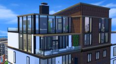 Fountainview Penthouse [Part 1] Today I have my very first penthouse in the Sims 4. This build took me almost 4 hours and it's going to be divided in two videos/posts. There's a couple parts of the...