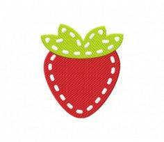 {Food-Stitched SititchedStrawberryPES.zip K.H.}  Stitched Strawberry Stitched 5