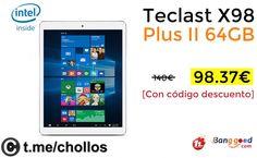 Tableta Teclast X98 Plus II 4GB por 98 - http://ift.tt/2xljg4h