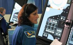 Indian-American #SunitaWilliams and other #NASA commercial crew astronauts have tested a new generation of training simulators to prepare for launch, flight and returns aboard a....
