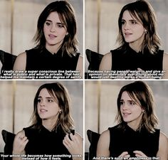 Emma Watson on social media. This is one of the many reasons on why I adore her! Harry Potter Actors, Harry Potter Memes, Emma Watson Quotes, Classy Women Quotes, Hermione Granger, Celebs, Celebrities, Role Models, Girl Power