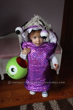 Awesome Boo Toodler Costume... Coolest Halloween Costume Contest