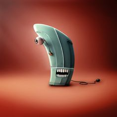 Monster Appliances by Francisco Rossi, via Behance