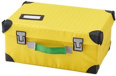 FLYTTBAR (Toy Trunks): A trunk for toys that looks like a suitcase – perfect for everything needed when it's time to go… #coupons #discounts