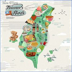 nice Taiwan Map Tourist Attractions