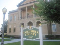 4. Magnolia sits where it does because you can't build a county seat in a creek.