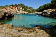 Cala S'Almunia, un lugar de ensueño. | Una Arjonera en Mallorca