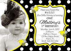 Love this card?  This listing is for a customized PRINTABLE invitation file only. Colors, fonts and wording can be changed to match your theme. Coordinating printables are also available in my shop.  How does this work? 1. Choose and purchase a design. After your purchase, send an e-mail to m...