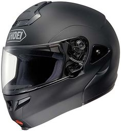 #Shoei_Multitec (Matte Black) is the standard in #motorcycle_helmets, offering the greatest versatility and convenience of motorcycle helmets. Get yours at HelmetCity.com.