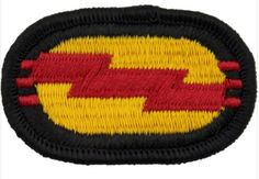 U.S. Army 75th Ranger Regiment 3rd Battalion Oval Patch