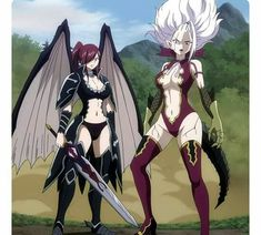 Erza and Mira are one of my favourite characters