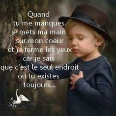 Tu me manques. Tu Me Manques, Best Quotes, Love Quotes, Inspirational Quotes, Positive Attitude, Positive Quotes, Quote Citation, French Quotes, French Poems