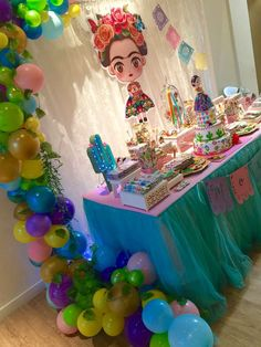Frida Kahlo - mexican party Birthday Party Ideas | Photo 1 of 29