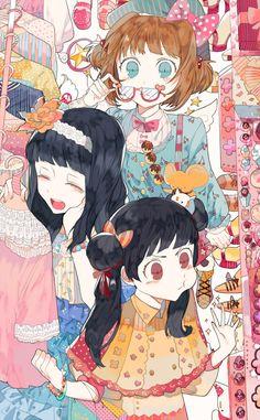 さくらたち (Sakura) by beeolet (Pixiv6092815)
