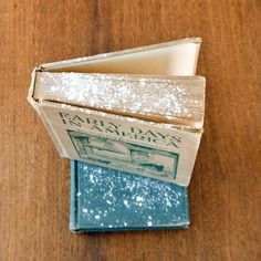 Refresh Old Books With Cornstarch