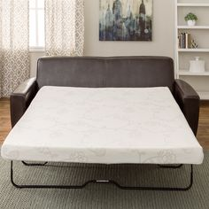This Innerspace memory foam mattress provides a solution to the uncomfortable sofa bed mattress. This memory foam mattress is designed to provide you and your guests with the best night's sleep possible.