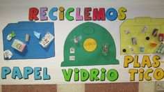 ¡Reciclemos! Los niños aprenden a reciclar. Earth Day Activities, Practical Life, Language Activities, Learning Environments, Teacher Hacks, Science And Nature, Special Day, 3 D, Recycling
