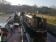 NB Alton is a working boat!  Pic by @Coalboat Brian McGuigan.