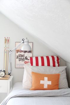 A Lovely Lark: Lovely Little Room: Max's Sloped Space